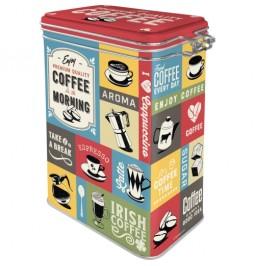 Plåtburk 1,3L (kaffeburk)